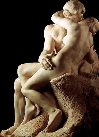 Rodin. El Beso