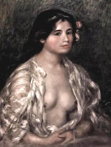 Renoir. Muchacha