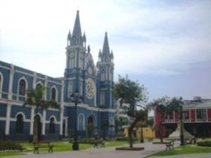 Iglesia y Parque de la Recoleta