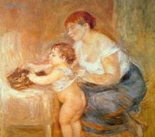 Madreehijo.Renoir
