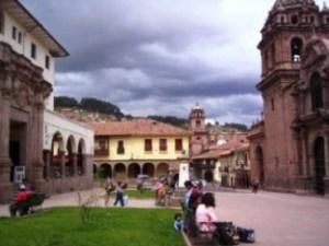 plaza en Cuzco