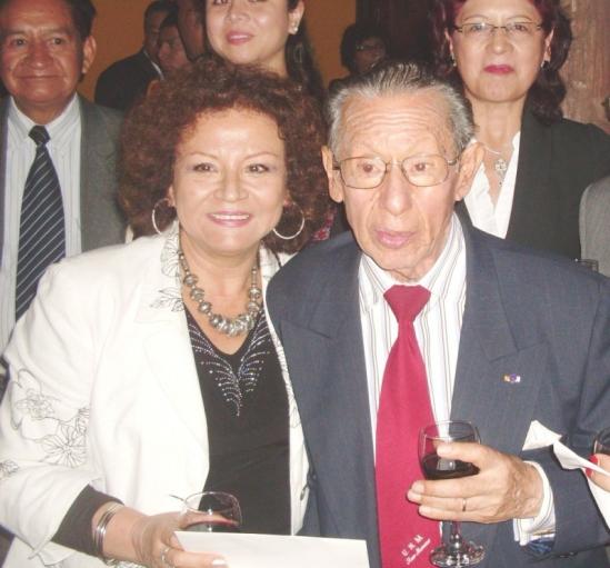 Con Carlos Eduardo