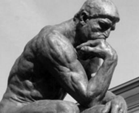 El pensador. Auguste Rodin, 1880