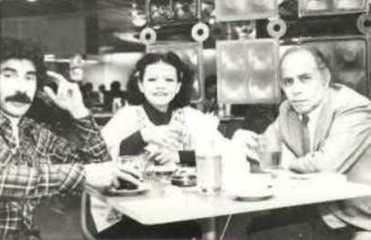 Ricardo Falla Barreda, Sonia Luz Carrillo, Alejandro Romualdo.  Lima, 1976
