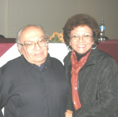 Padre Gustav Gutiérrez y Sonia Luz Carrillo