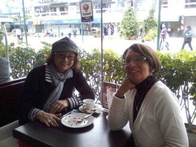 Sonia Luz Carrillo y Giovanna Minardi. Lima, 04 de setiembre del 2012
