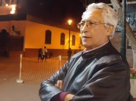 Jorge Nájar. Lima, octubre 2013. Foto: Sonia Luz Carrillo