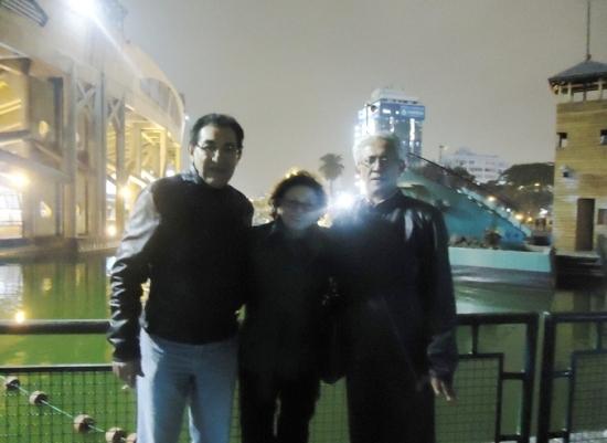 Ricardo Falla Barreda, Sonia Luz Carrillo y Jorge Nájar. Parque de la Exposición, Lima 2013
