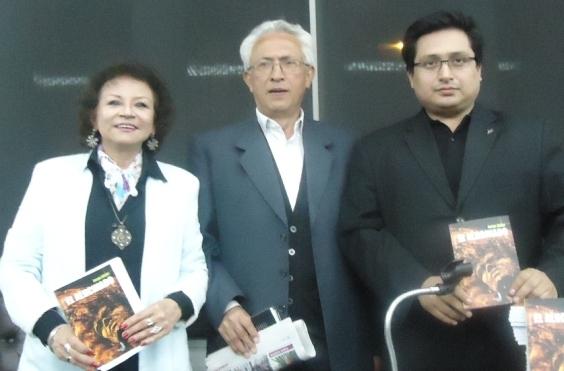 Jorge Nájar, Harold Alva  y Sonia Luz Carrillo