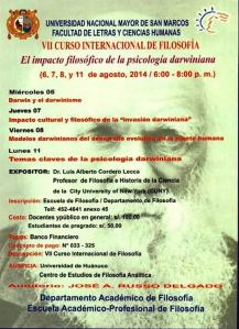 Afiche, VII CIF,2014