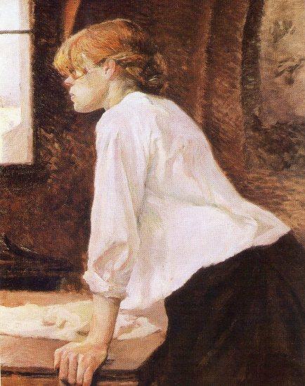 La lavandera, oleo-93x75 cm- 1884.