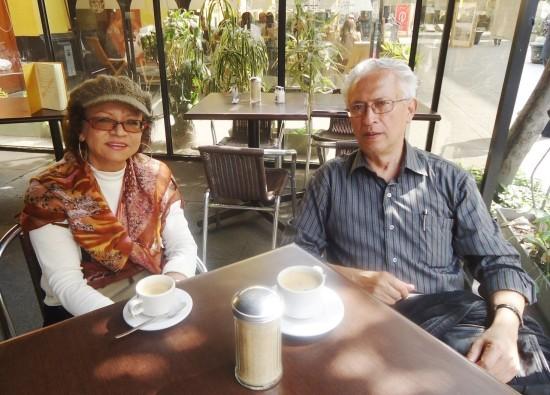 En Lima, dialogando con el poeta, el narrador, el amigo. Sonia Luz Carrillo y Jorge Nájar (2013)