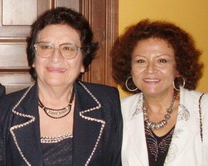 Con la doctora María Luisa Aguilar fue la primera astrónoma de Perú entre hombres y mujeres. Ejemplar maestra sanmarquina.