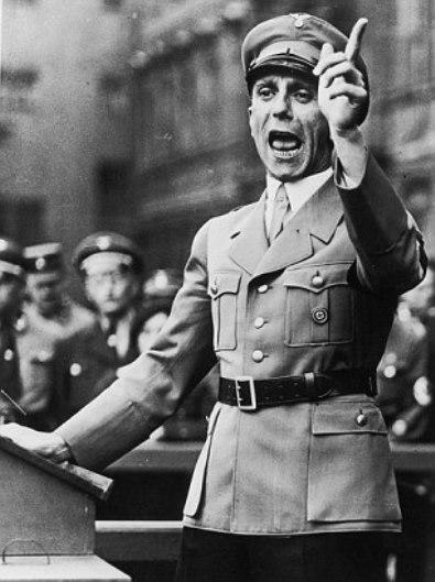 Joseph Goebbels. Setiembre de 1934