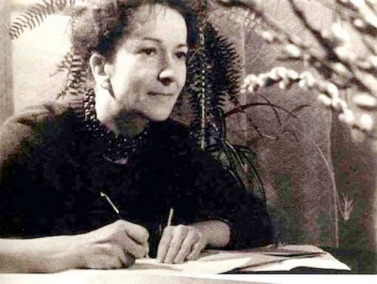 Szymborska joven