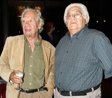 Rodolfo Hinostroza y Oswaldo Reynoso