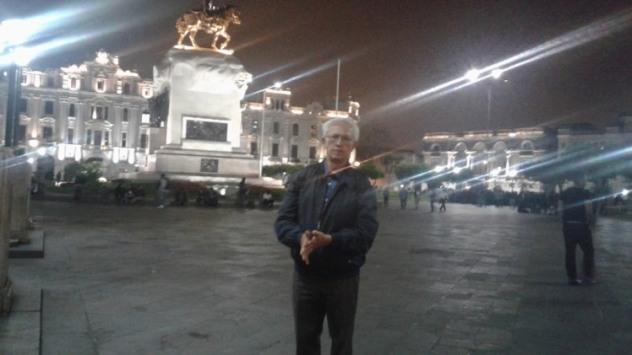 Jorge Nájar. Lima 2016. Foto: Sonia Luz Carrillo